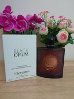 Used Ysl black opium edt 90ml in Dubai, UAE