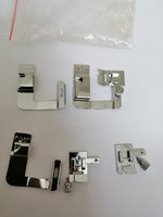 Used Sewing machine hemming foot 1 set 3pcs in Dubai, UAE