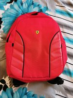 Used Original red Ferrari bag in Dubai, UAE