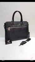 Used Black Mont Blanc laptop bag 💼  in Dubai, UAE