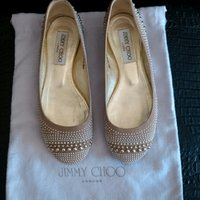 Used Original new Jimmy Choo ballerinas in Dubai, UAE