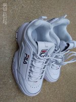 Used Fila shoes white in Dubai, UAE