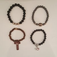 Bracelets with charms 55 each