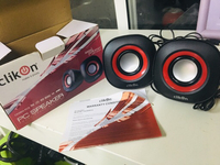 Used Clickon PC Speakers CK2904 PCS in Dubai, UAE