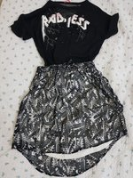 Used Shirt and skirt set  (Size S) in Dubai, UAE