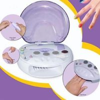 Used Nail care kit with polish dryer. in Dubai, UAE