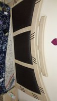 Used 200×200 bed nd wooden for sale.Brand New in Dubai, UAE