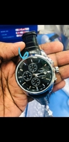 Used TISSOT chronograph leather strap watch in Dubai, UAE