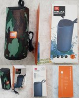 Used Army color JBL speakers portable ☆⁸ in Dubai, UAE
