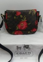 Used Coach Floral Print Crossbody Bag in Dubai, UAE