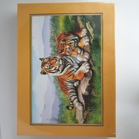 Used Jigsaw Puzzle (Tiger)500 in Dubai, UAE