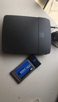 Bundle LINKSYS router & notebook adapter