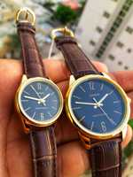 Used CASIO Leather Couples Watches ✔Original in Dubai, UAE