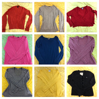 9 pieces Tops and knit wear branded
