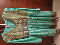 Used Full embroidered dress in Dubai, UAE