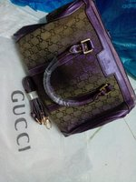 Used Gucci Bags Met. Violet/Brw Set - Replica in Dubai, UAE