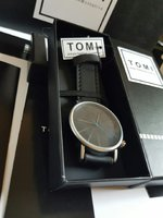 Used Leather Watch Original TOMI¤New with Box in Dubai, UAE