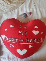 Used Brand New Heart shape pillow in Dubai, UAE