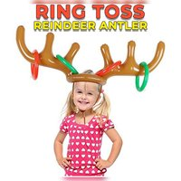 Used Inflatable antler ring toss toy in Dubai, UAE