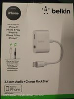 Used For iPhone 3.5mm audio+charge rockstar in Dubai, UAE