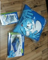 Used smurf bed set 3 pcs in Dubai, UAE