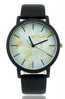 Marble pattern Analog watch