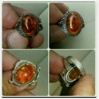 Used Antique old Silver Ring with Kahraman... in Dubai, UAE