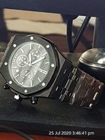 Used AUDEMARS WATCH MSTER BLACK Chronograph🔊 in Dubai, UAE