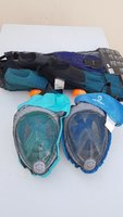 Used 2Fullface divingmasks + 3par swimmfins in Dubai, UAE