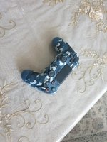 Used Ps4 blue camouflage controller. in Dubai, UAE