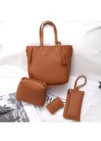 Used 4 pcs women's hand bags set in Dubai, UAE