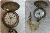 Used Original ANTIQUE POCKET WATCH with Key in Dubai, UAE