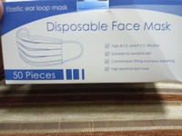 Used 3 layer face mask in Dubai, UAE