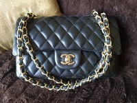 Used Chanel Classic flap medium lambskin in Dubai, UAE