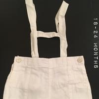 Used Gocco White Shorts. Excellent Condition. Worn Once. Sz 18-24 Months. in Dubai, UAE