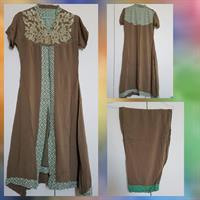 Used 2pc LINEN EMBROIDERED suit  in Dubai, UAE