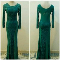 Beautiful turquois long Dress for LADIES
