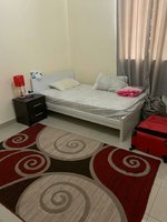 Used Ikea Double Size Wood Bed With Mattress in Dubai, UAE