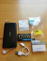 Used Super slim veger power bank 12,000 New in Dubai, UAE
