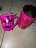 Used 2 Barbie pinky mugs in Dubai, UAE