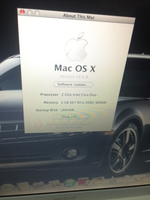 Used MacBook core2do 2 gb ram 80gb hhd  in Dubai, UAE