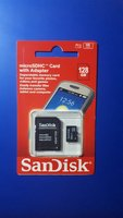 Used Sandisk MicroSD 128 GB Packed New in Dubai, UAE
