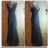 Used Brand New Grey Long Dress in Dubai, UAE