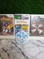 Used Wii Original Cd Games [ 4 pcs ] in Dubai, UAE