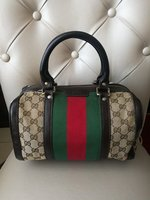 Used AUTHENTIC GUCCI BOSTON BAG.. in Dubai, UAE