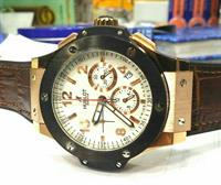 "HUBLOT ""RUGGED LOOK"" MEN'S WATCH"