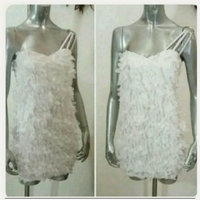 Used Brand new white short dress for Lady in Dubai, UAE