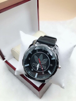 Used Black Adidas ⌚️ wristwatch  in Dubai, UAE
