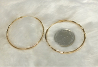Used HOOP NON TARNISH EARRINGS  in Dubai, UAE