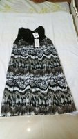 Used Dress for Women Black Brown (Size-36) in Dubai, UAE